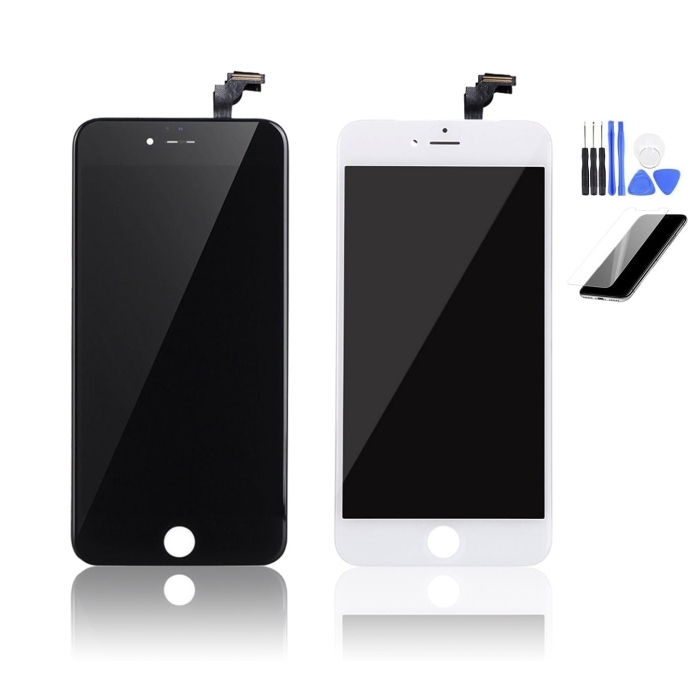 iPhone 6 Plus Replacement Screen Black Front