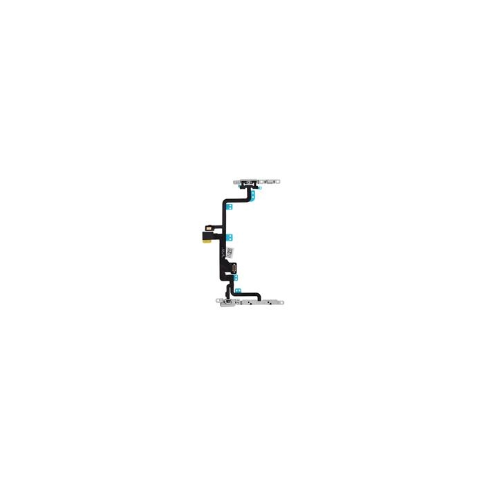 iPhone 7 Plus Power and Audio Flex Cable Replacement with Metal Bracket
