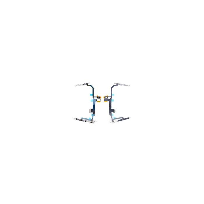 iPhone 8 Plus Power and Audio Flex Cable Replacement with Metal Bracket
